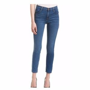 J Brand Alana High-Rise Crop in Taintless (NWT)